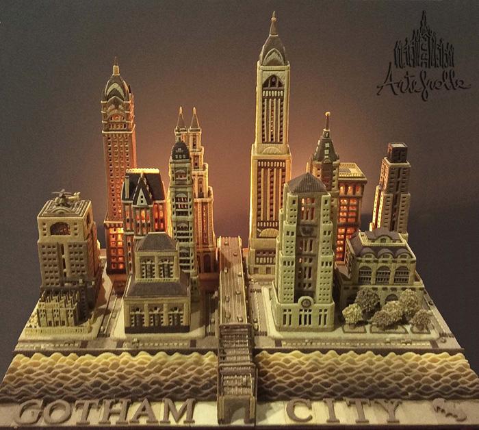 Gotham City allestimento al concorso